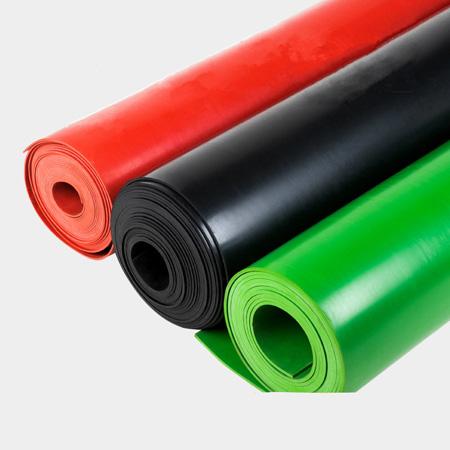彩色绝缘橡胶板3